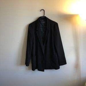 Zara Long Open Jacket Blazer